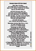 Einheitsgebet deutsch